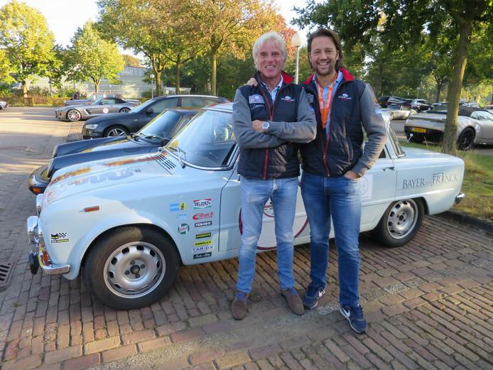 Vastgoedbeleggers Boris Bayer en Johan van Ginderen (navigator) rijden met Porsche 911 GT3 uit 1999 veel rally's. Dat is ook te zien. © Leo van der Velde